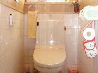 トイレリフォーム 見た目はそのまま、見えないところで節水できるトイレ
