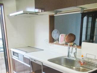 キッチンリフォーム オプションにこだわり機能性を追及したキッチン