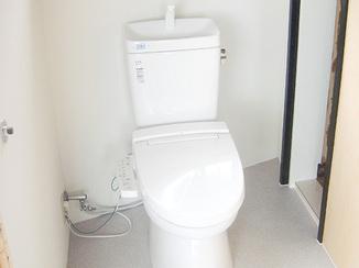 トイレリフォーム 給水引込・設置のみのご依頼で格安施工