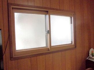 小工事 断熱複層ガラスの内窓で結露と寒さを軽減