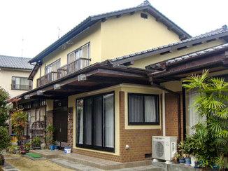 外壁・屋根リフォーム 塗装を工夫して新築のように綺麗になった外壁