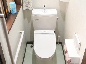 トイレリフォーム 動線を変更して利用しやすいトイレに